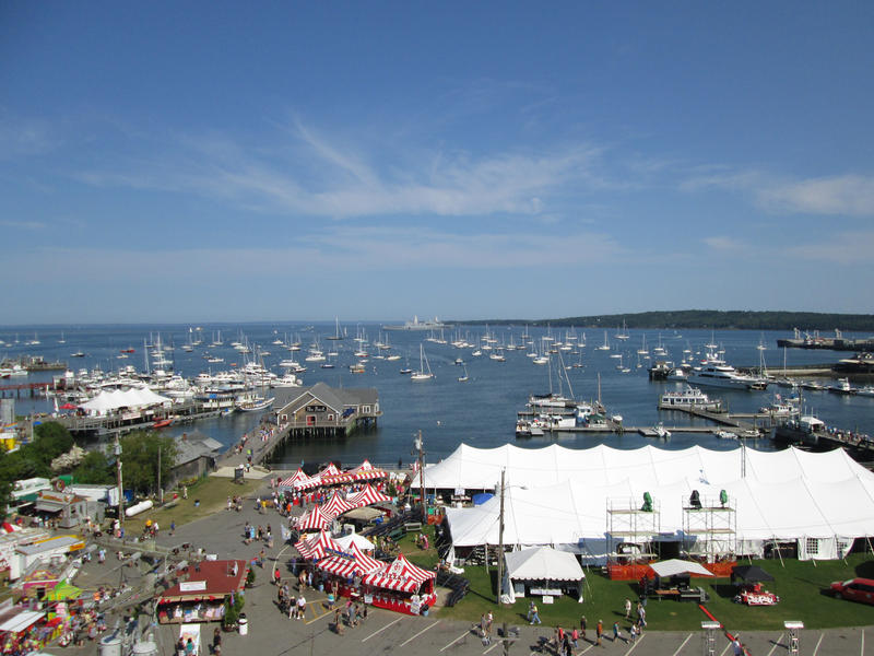 The Maine Lobster Festival in Rockland in 2012.