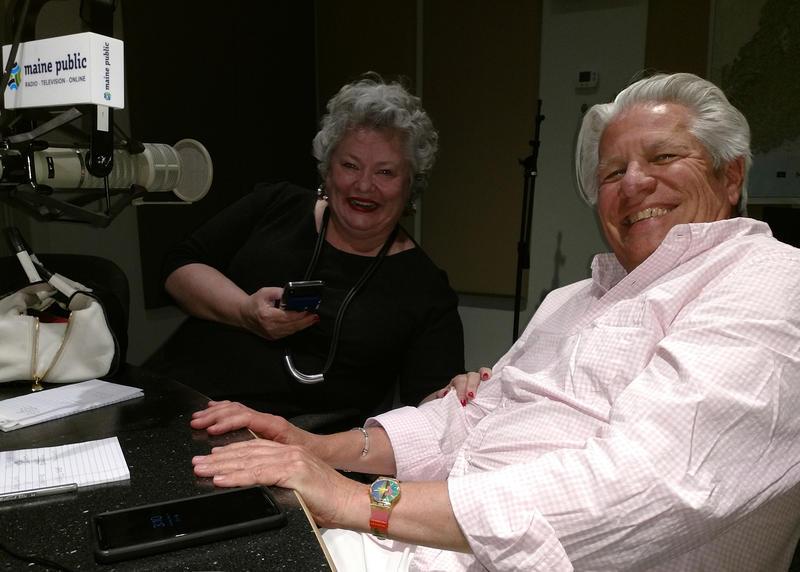 Brenda Garrand (left) and Sam Surprise