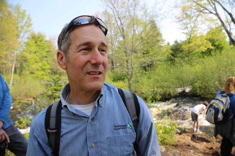 Josh Royte, a conservation scientist with the Nature Conservancy.