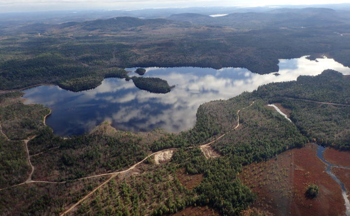 Narraguagus Lake in eastern Hancock County. Nearly 13,800 acres of forest abutting the lake in Township 16 were acquired Tuesday, May 1, 2018, by the Conservation Fund.