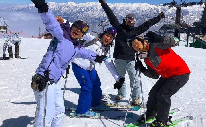 "Yama"" or ""mountain"" girls, are groups of girls who like to hike, ski or do other outdoor activities on the weekend. L.L.Bean is selling jackets and other outdoor gear to tap into the popular Yama girl trend, as seen on these L.L.Bean employees."