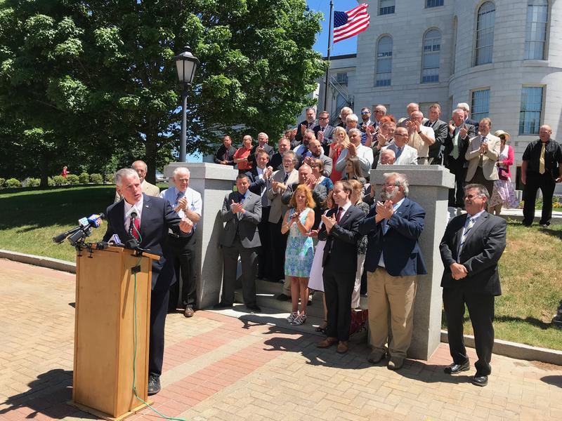"""""""That's the goal of this campaign, to move Maine forward on the foundation that the republicans and Gov. Paul LePage have laid,"""" Moody said."""