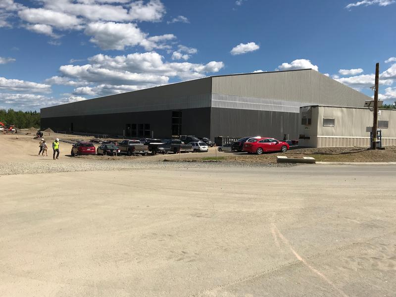 Fiberight plant in Hampden nears 50 percent completion point.