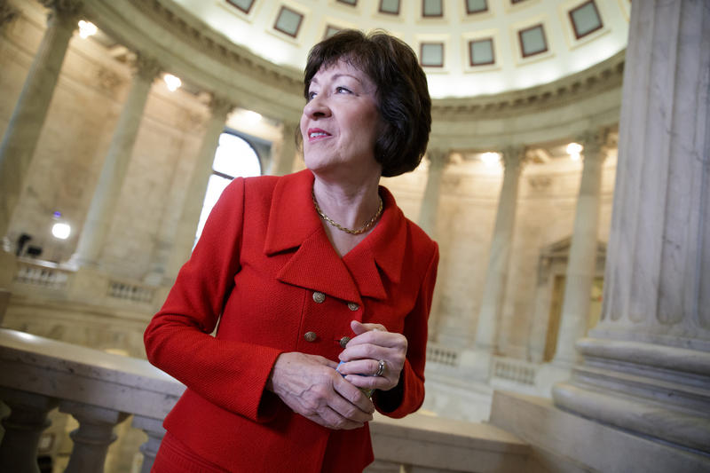 The nominee will replace retiring Justice Anthony Kennedy who, like Collins, is often considered a swing vote.