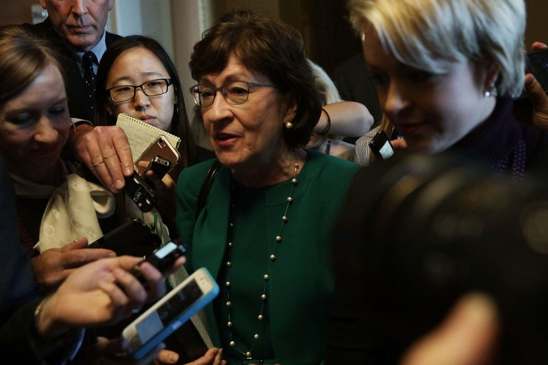 Collins says that as soon as Justice Anthony Kennedy announced his retirement, she was bombarded by requests that she take an immediate position.