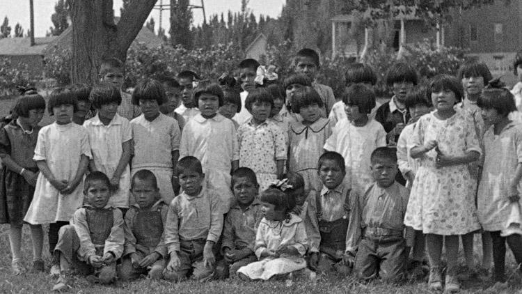 Navajo children, June 19, 1929