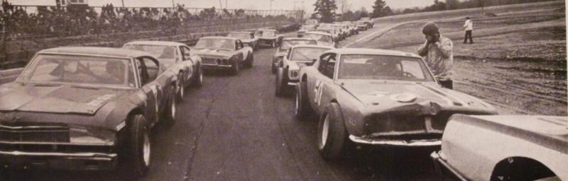 Wiscasset Speedway in 1975