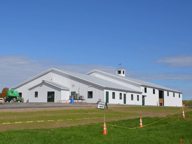 The Maine State Society for the Protection of Animals' new equine rehabilitation facility.