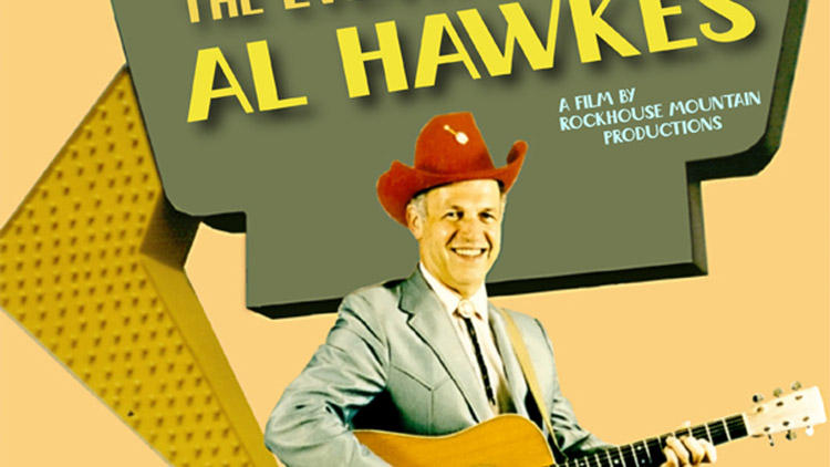 The DVD cover image for The Eventful Life of Al Hawkes