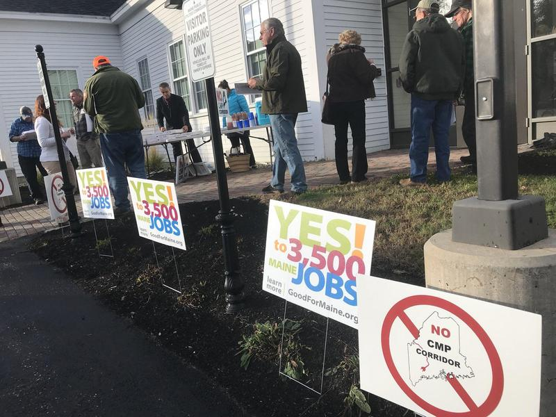 When a representative of the Maine Snowmobile Association praised the new project at a public hearing last week, some members dissented.