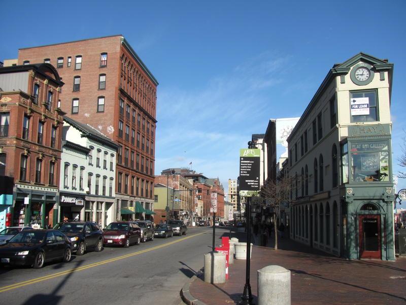 Congress Street Portland, Maine