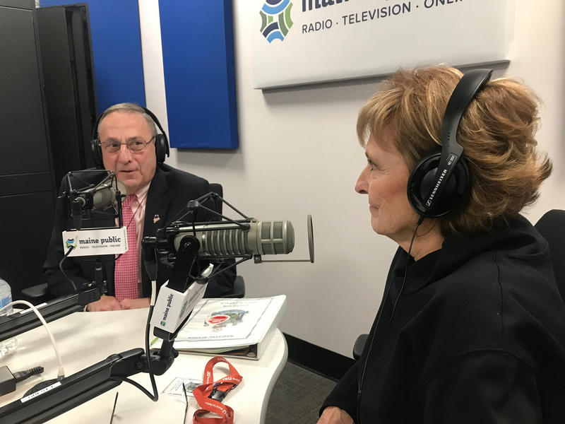 Maine Public Broadcasting Gov. Paul LePage and his wife Ann appear on Maine Calling from Augusta, with Mal Leary and Jennifer Rooks.