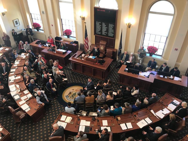 Maine Senate on Dec. 5, 2018