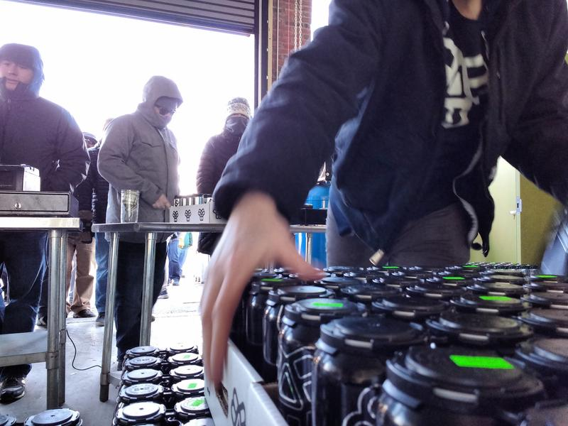 A beer release at Bissell Brothers in Portland in Dec. 2016.