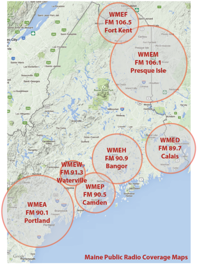 Where To Hear Maine Public Radio Maine Public
