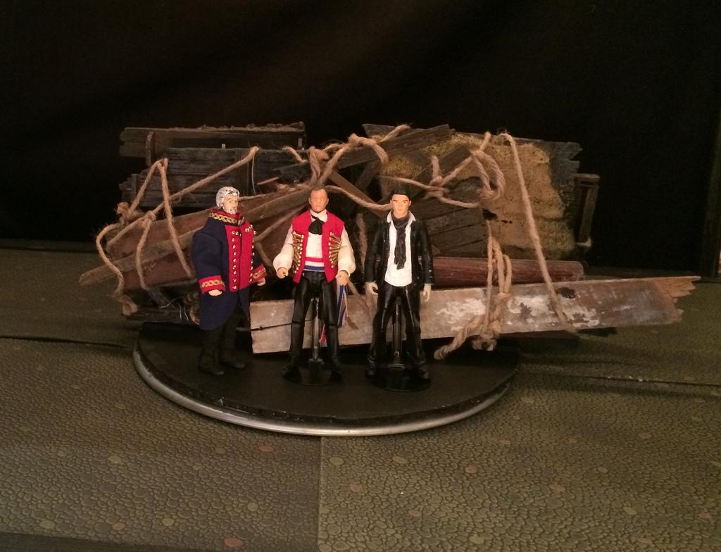 portland man stages plays u2014 with action figures maine public