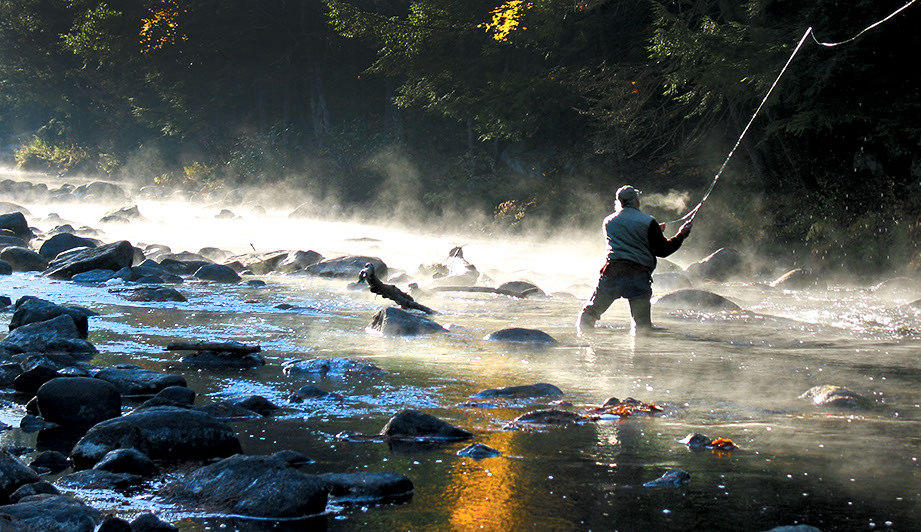 Maine groups working to preserve land likely to be climate for Maine fly fishing
