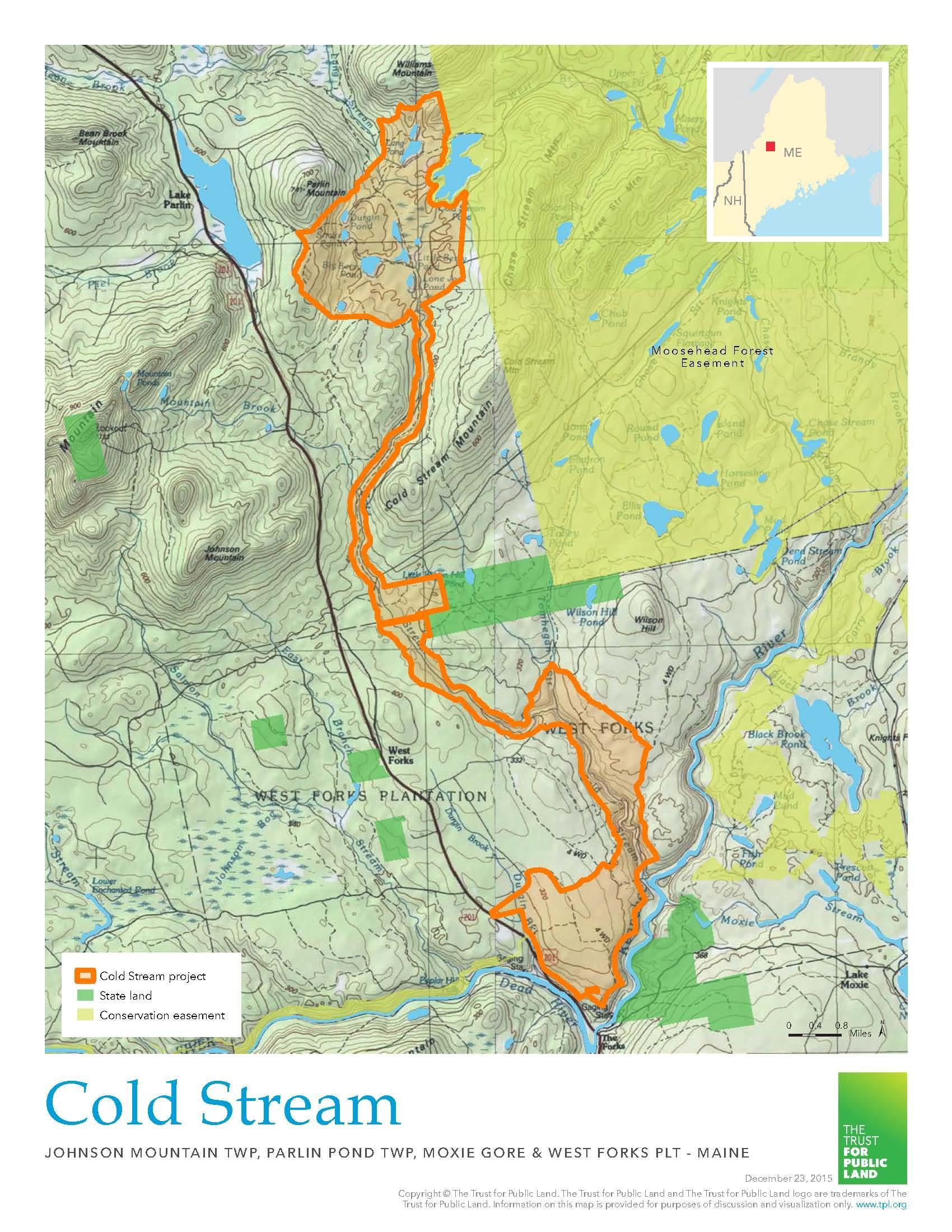 Land Purchase Preserves Wildlife Habitat in Somerset County Maine