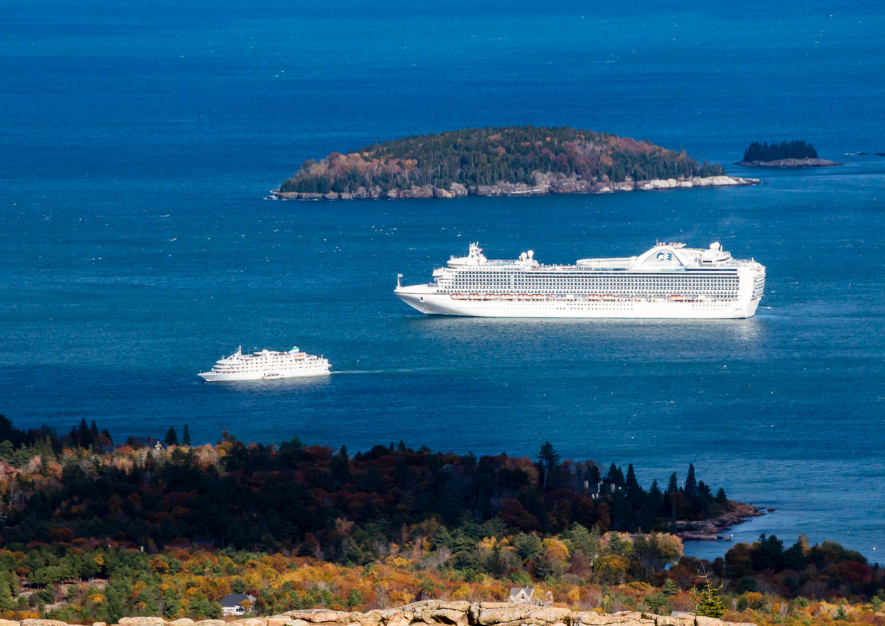 Northeast Harbor Residents Reject Cruise Ships Maine Public - Cruise ship bar harbor