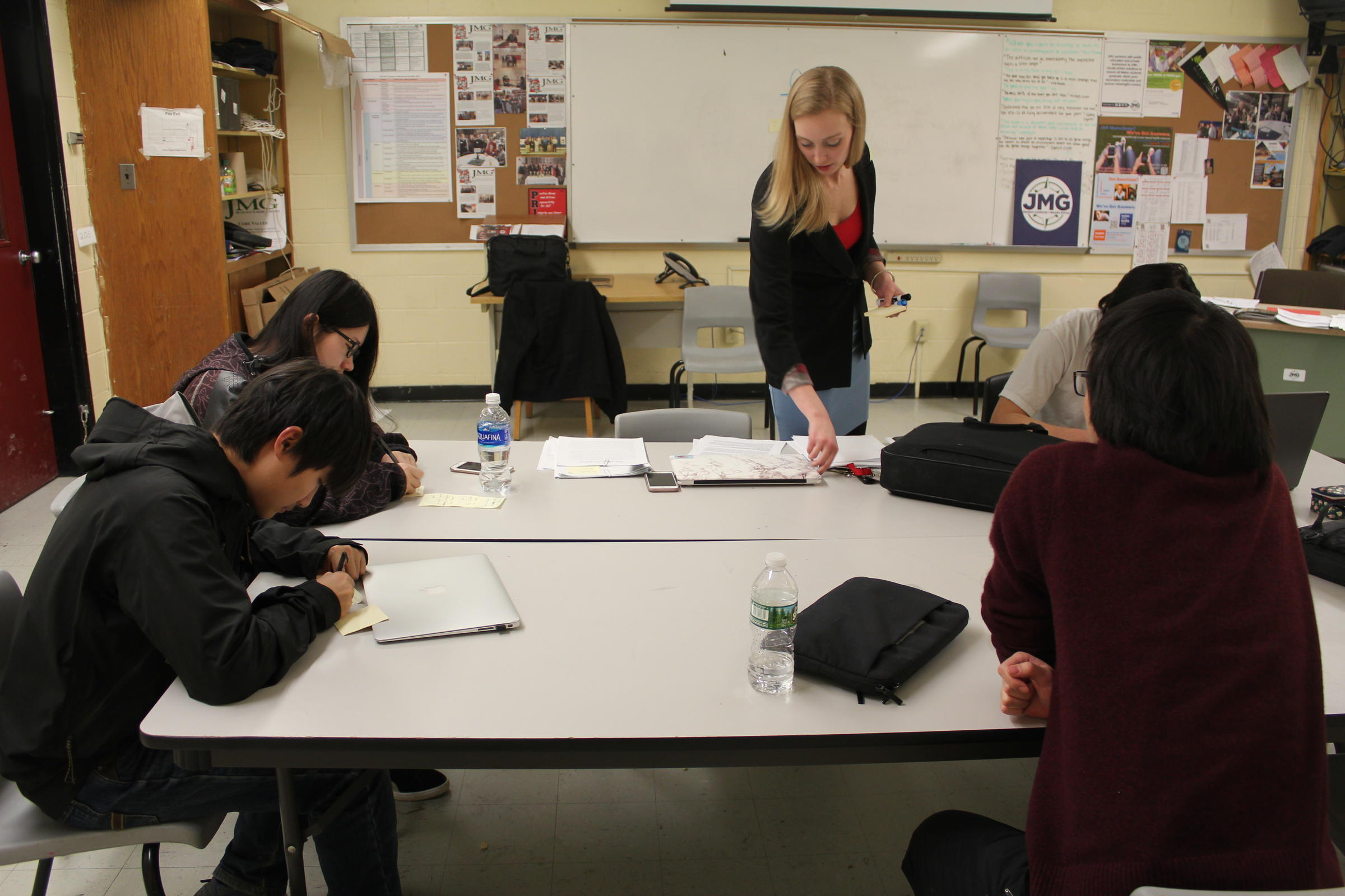 Chelsie Crane Teaches Many Of The International Students At Dexter Regional High School In