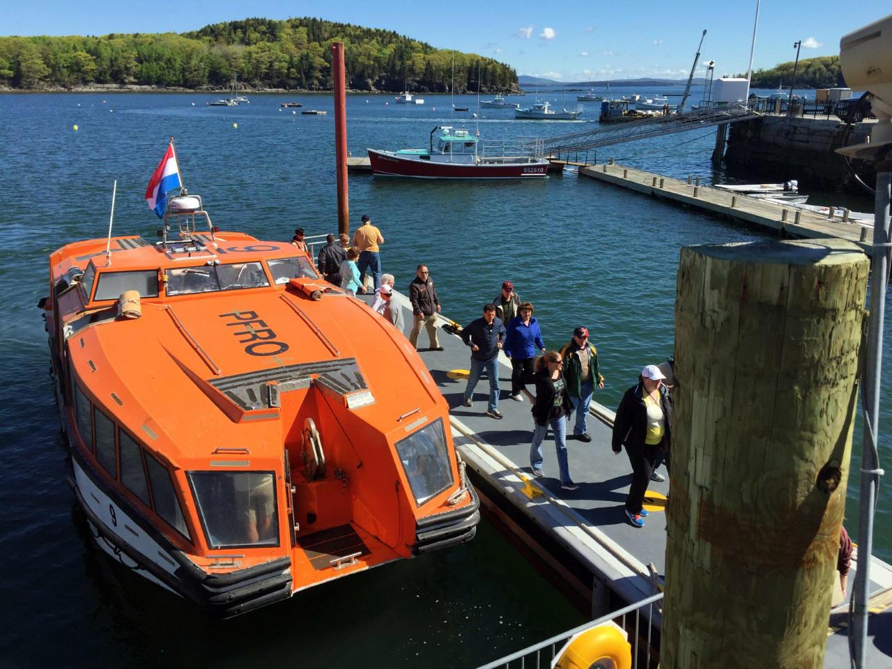As Cruise Ship Traffic Surges Bar Harbor Considers Buying Former - Cruise ship bar harbor
