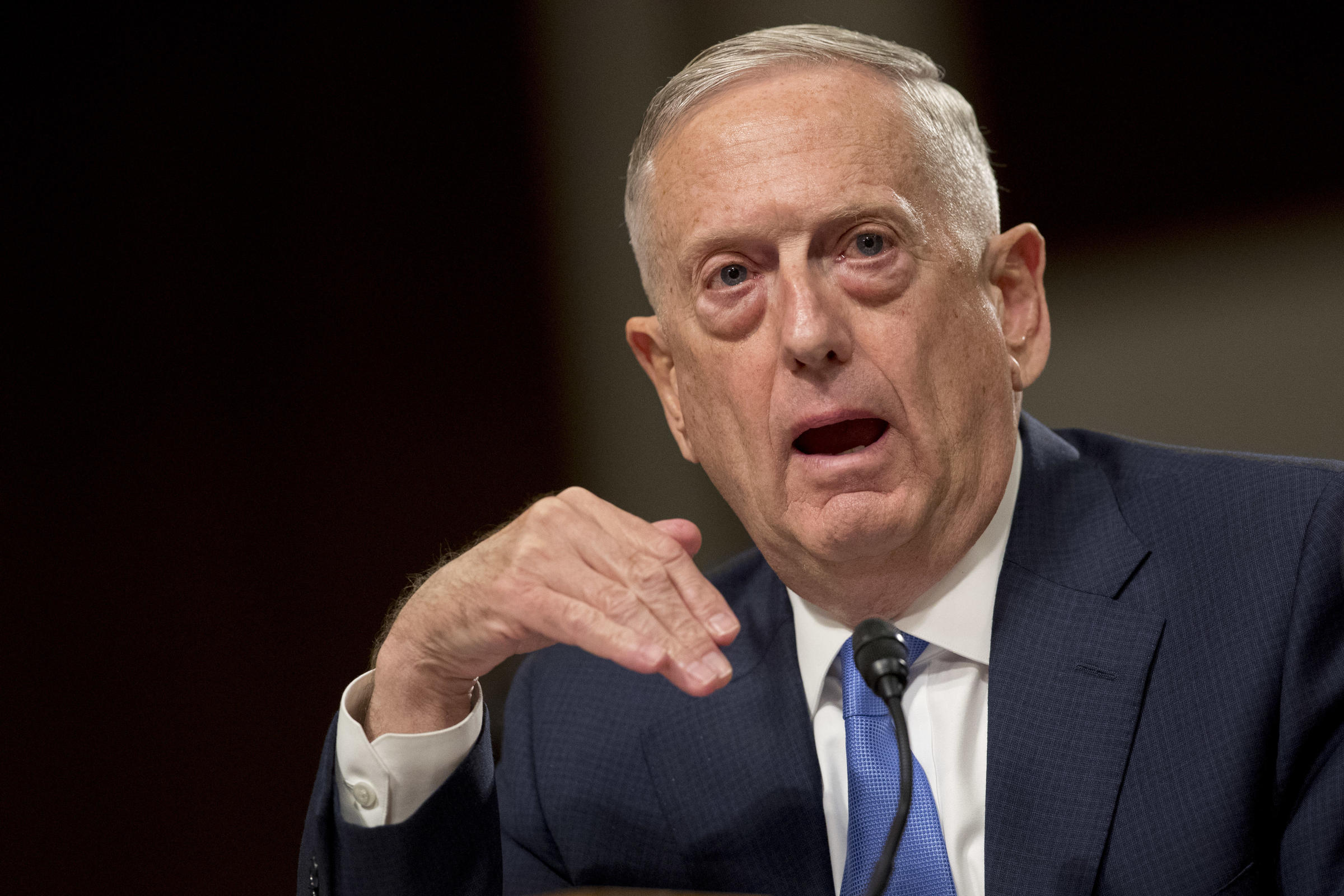 At this point we can't bring political solution to Afghan war: Mattis