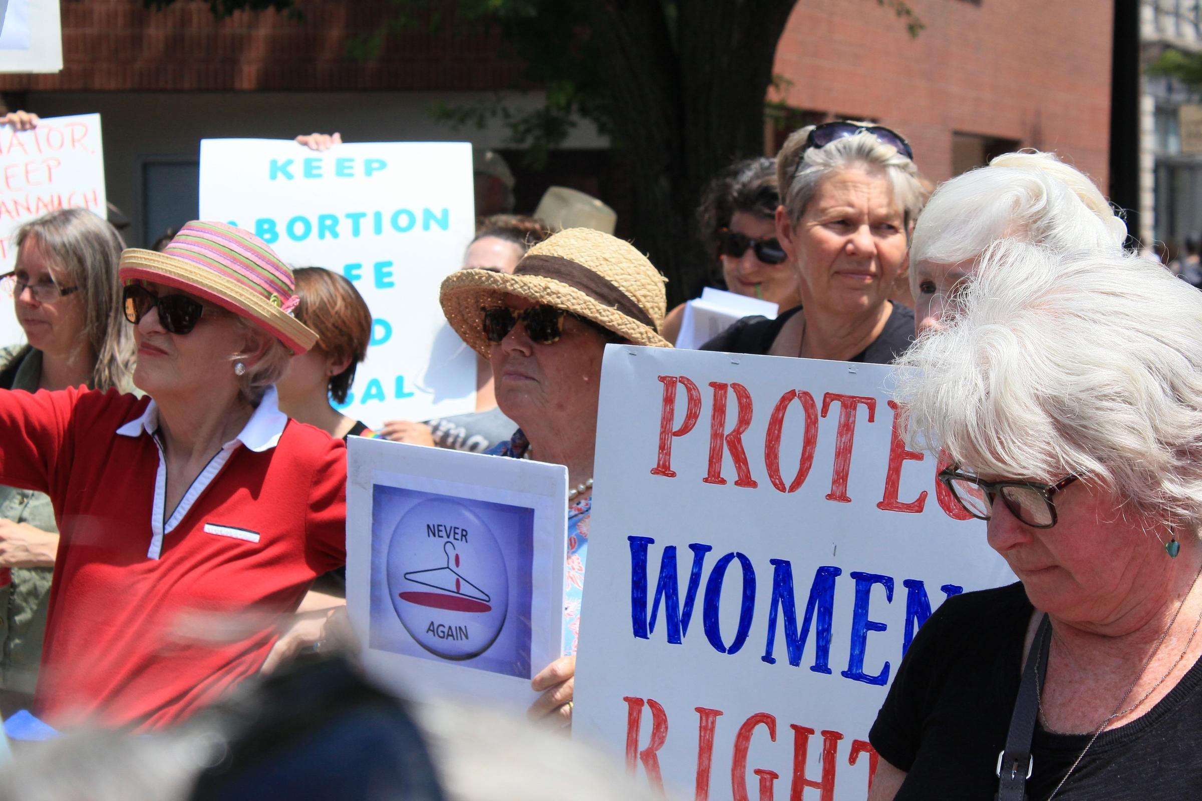 Protesters Urge Collins To Reject Trump Supreme Court Nominee Brett ... dd14a1e449b