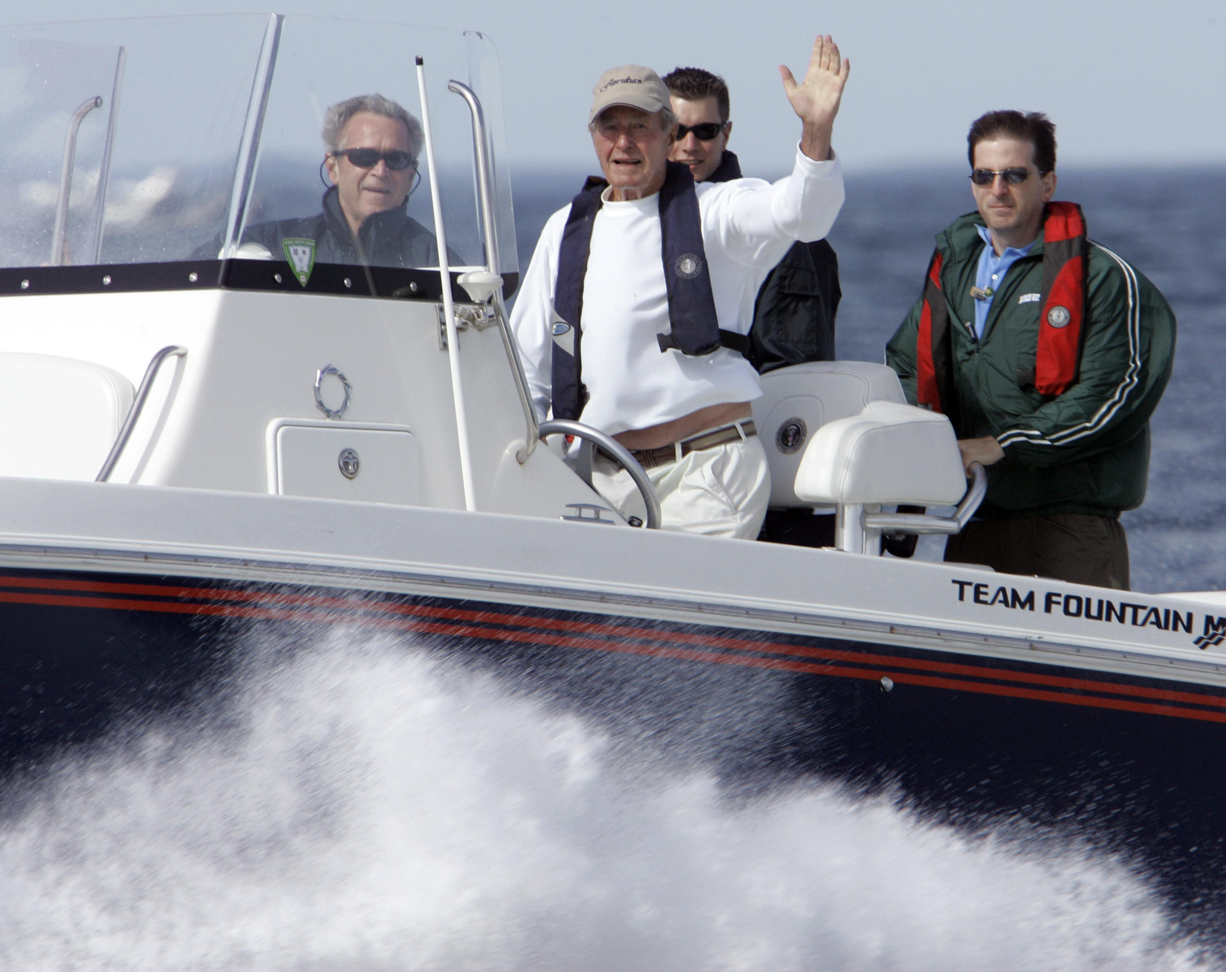 Former President George H W Bush Remembered In Maine Maine Public