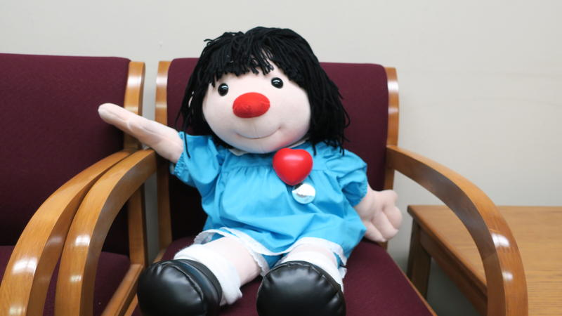Molly the Dolly is a Happy Valentine