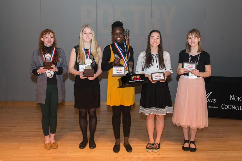 The Winners! Maggie Weeks, Kayli Stanger, Maria Modi,Maria Kalb, and Emily Gilsrud
