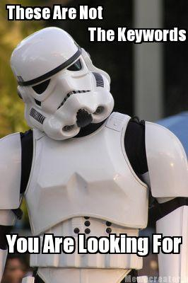 Confused Stormtrooper