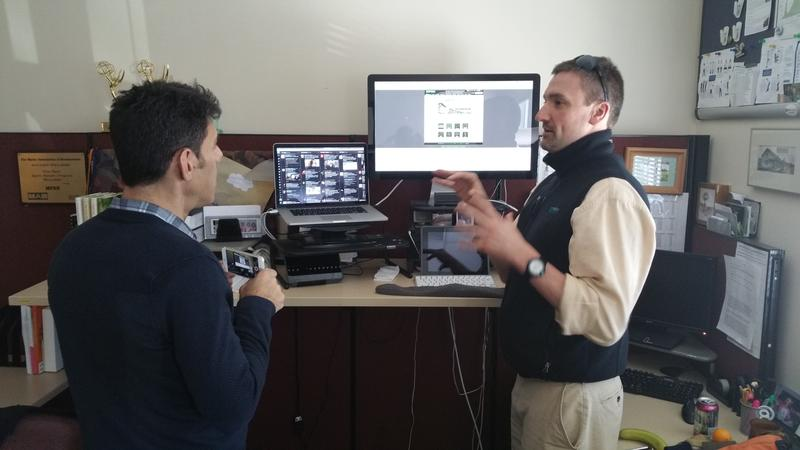 Chris Sweet of MPBN talks about his workflow with Adam Kiryk (DS)