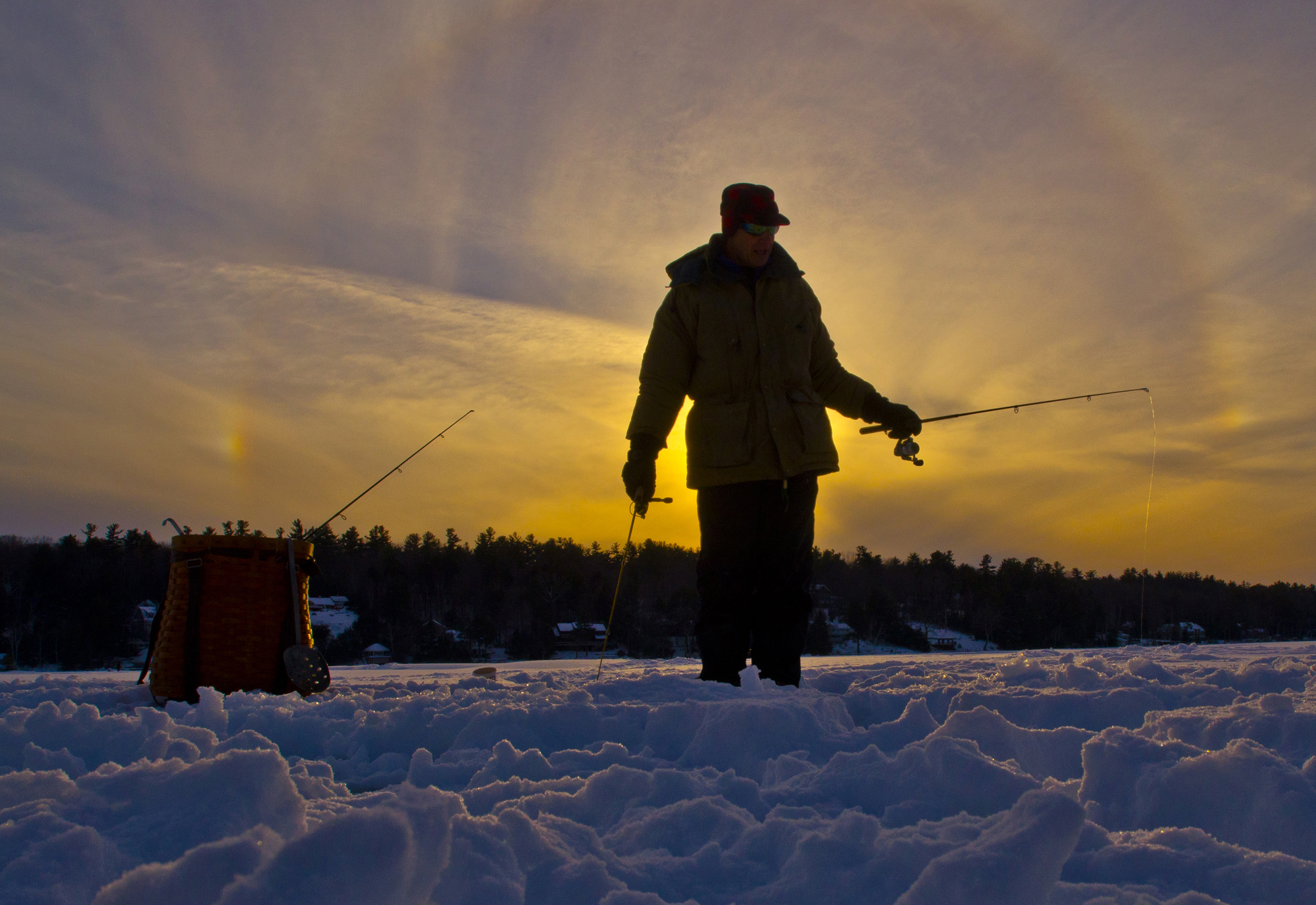 Ice fishing derby set to lure thousands to lakes region for Lake meredith fishing report