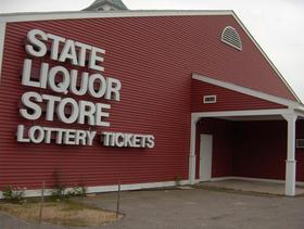 State liquor store.