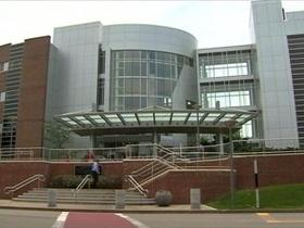 Exeter Hospital, where an outbreak resulted in 32 patients contracting Hepatitis C.