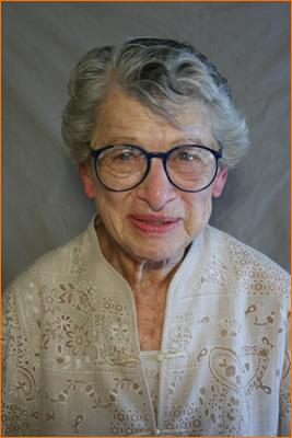 May Gruber in 2007, when she took part in the StoryCorps in New Hampshire project.
