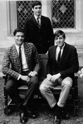 John Kerry was a member of the St. Paul's Debate Team way back when.