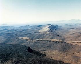 View of Yucca Mountain