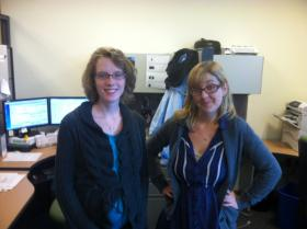 This pair of gentle, creative, complex and artistic souls helps us raise funds at NHPR. How lucky are we?