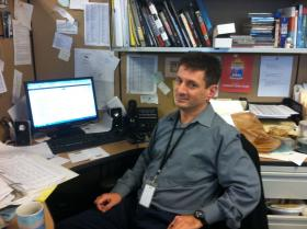 As an ENTP, Keith Shields doesn't let a messy desk get in the way of his big vision.
