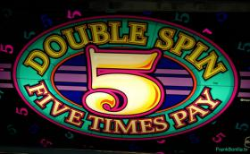 Double Spin 5 Times Pay $1 Slot Machine