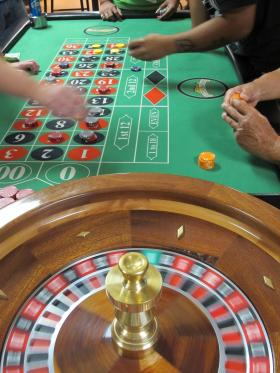 Low stakes charitable gaming is popular at Rockingham Park, in Salem.