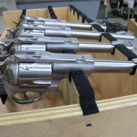 At its Newport plant, Sturm, Ruger manufactures everything from newer assault rifles to old-fashioned revolvers.