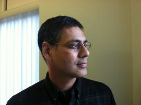 Dr. Sandeep Sobti is working to lower the reliance on antipsychotic medications in New Hampshire nursing homes.