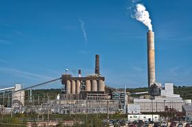 PSNH's Merrimack Station in Bow first came online in 1960. Despite the age of the plant, it is equipped with a very modern pollution control system, which PSNH estimates cost $422 million. The controversial scrubber came online in 2011.