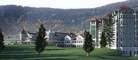 Artist's conception of the renovated Balsams.