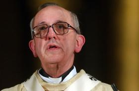 Argentine Cardinal Jorge Mario Bergoglio was chosen as the new Pope. He has selected the papal name of Francis.