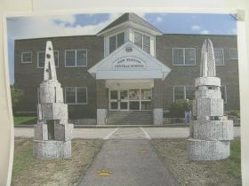 Proposed image of the 250th anniversary sculpture made by the students of the New Boston Central School