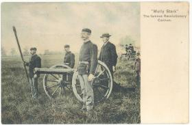 Old photo of the Molly Stark Cannon