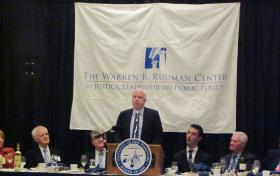Sen. John McCain describing his time with Warren B. Rudman
